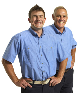 Peter and Jack are part of our professional Fair Oaks plumbing team